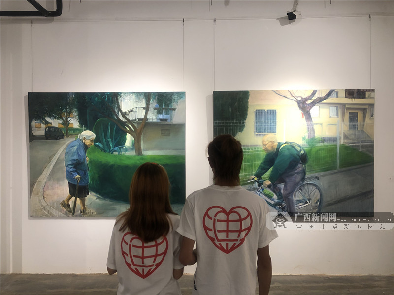 """直面当代青年困境 广西""""新青年""""新锐艺术家群展开幕"""