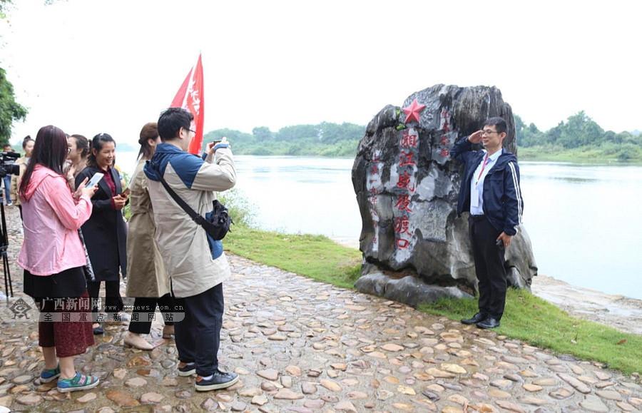 探访界首渡口等革命旧址 追寻红色记忆缅怀红军先烈