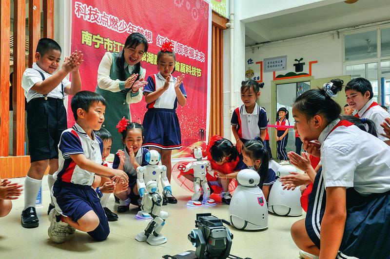 南宁市江南区翠湖路小学:红色引领幸福未来