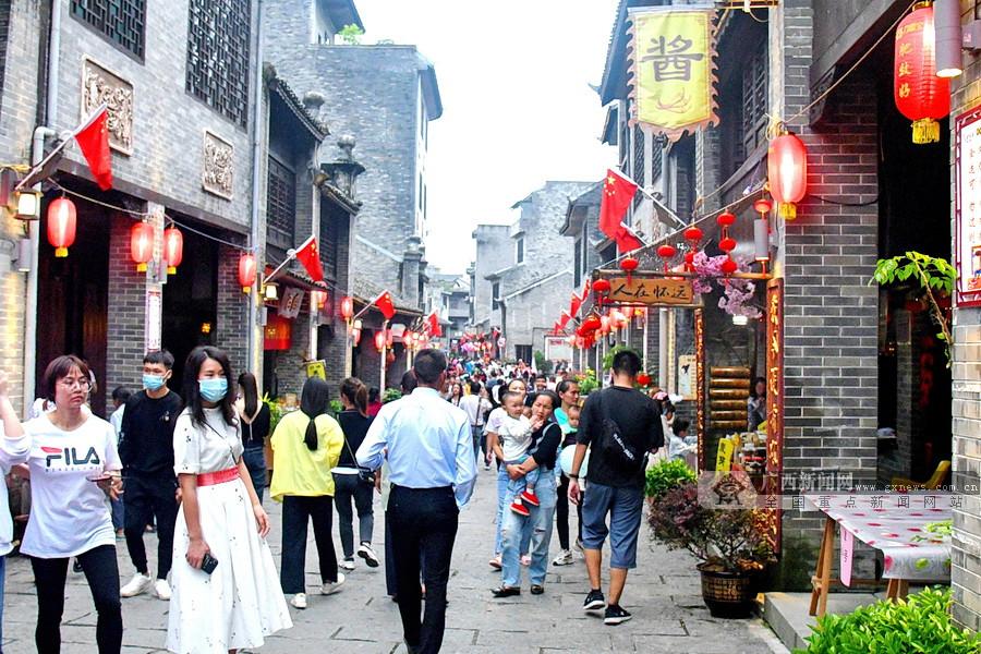 8天长假收官 宜州共接待游客27.64万人次