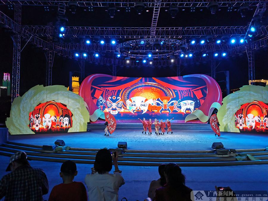 南宁市邕宁区举行系列文化活动专场文艺演出