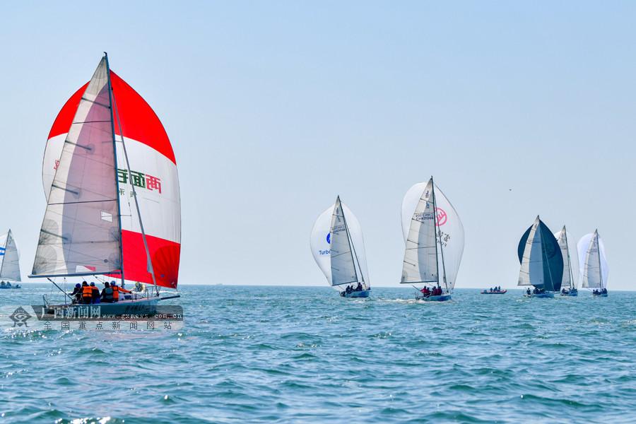 """16支船队齐聚北海 角逐2020""""一带一路""""国际帆船赛"""