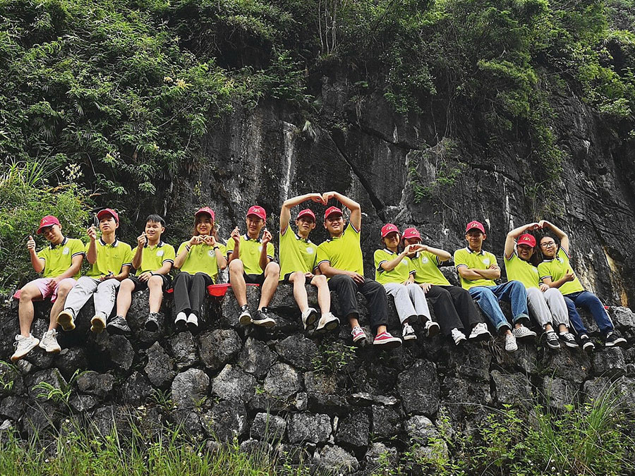"""广西建设职业技术学院一方净水志愿团队""""一方净水""""——良性再生制水,乡村振兴新内核志愿服务"""