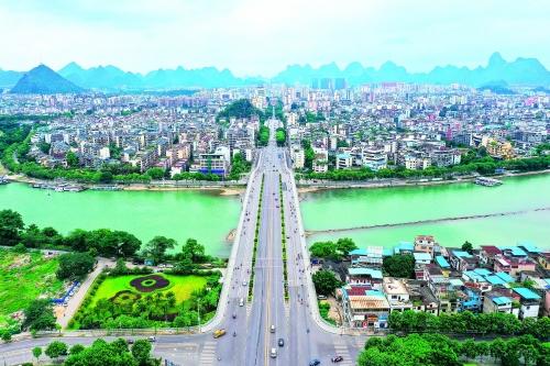 桂林:文明花开香满园 同心掬得满庭芳