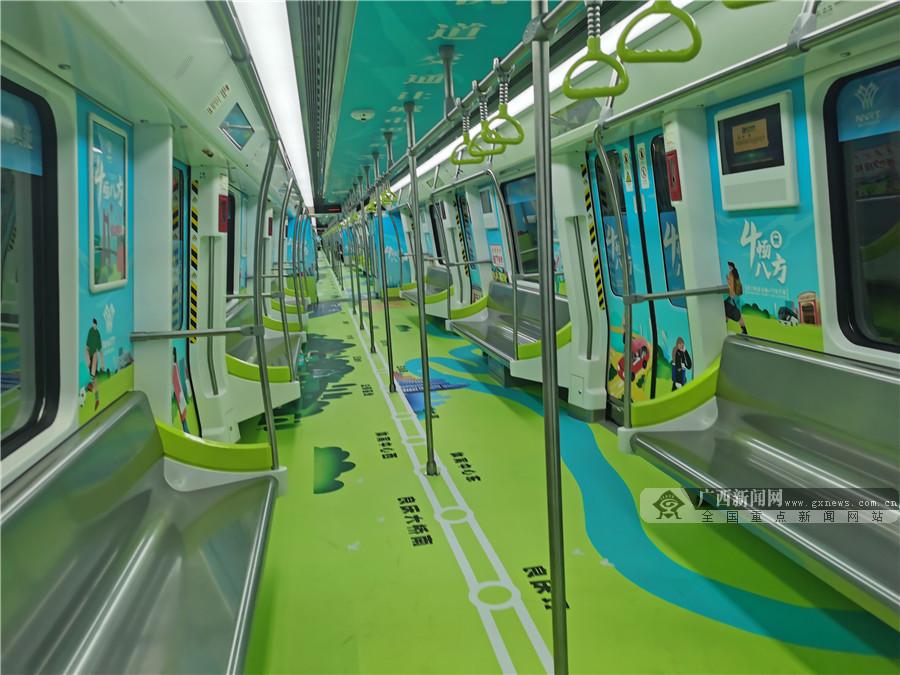 4线齐发!南宁地铁4号线和2号线延长线开通试运营