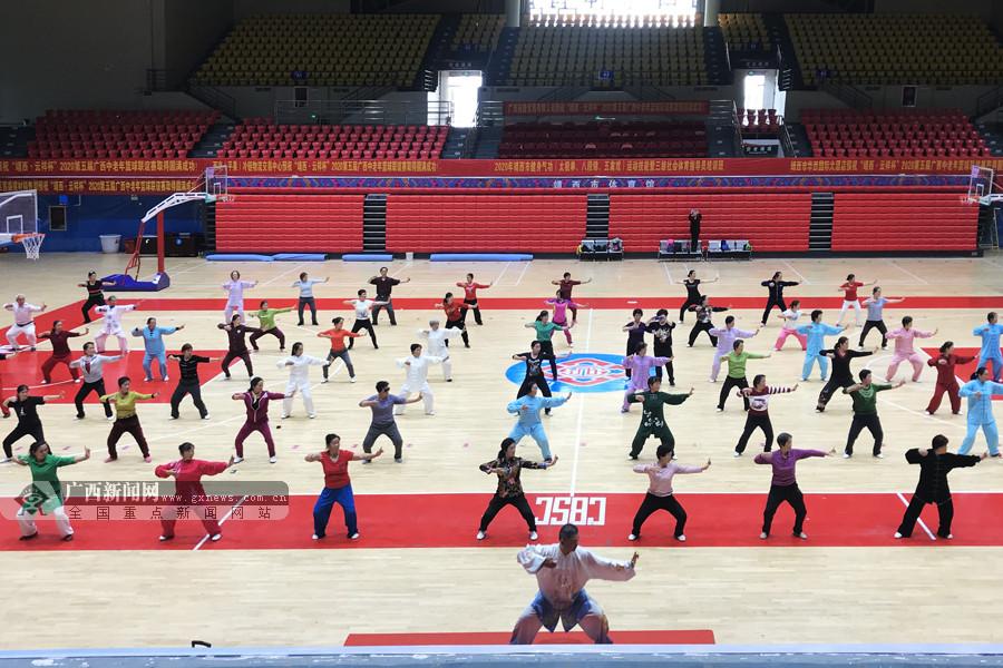 靖西市连办健身气功培训班和讲座服务基层群众