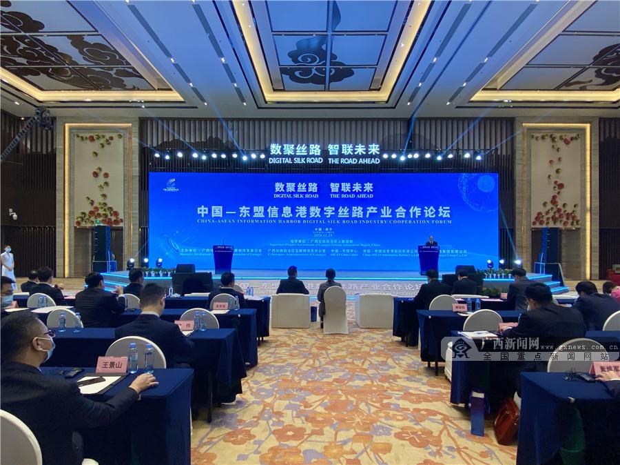 """广西积极推进数字经济发展 """"数字丝路""""百花齐放"""