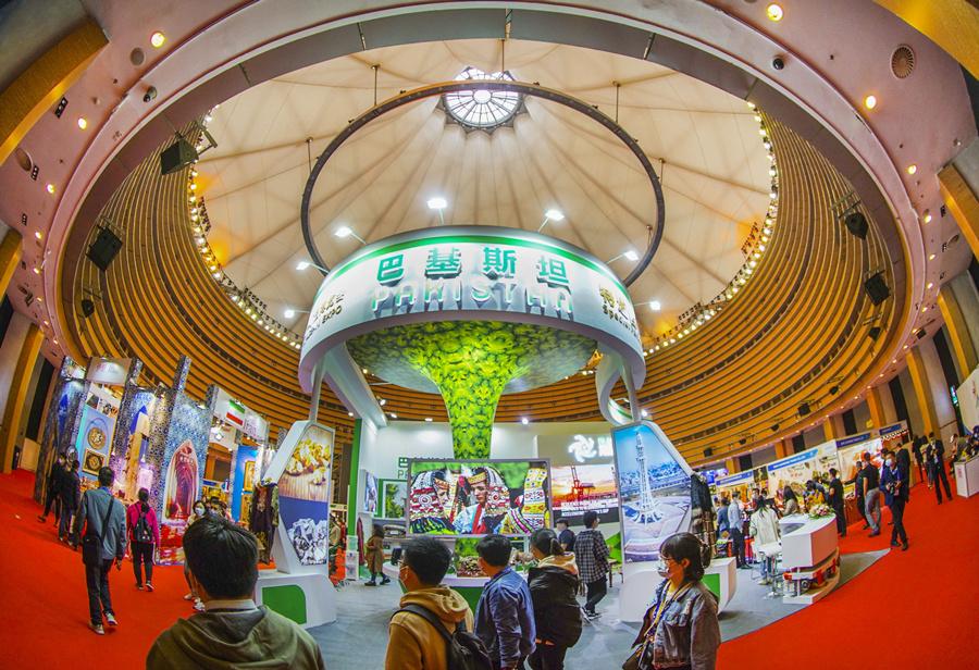 2020年11月28日焦点图:看看东博会首日都有啥?