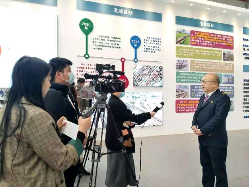 【现场播报】一起来了解南宁国际铁路港建设发展情况