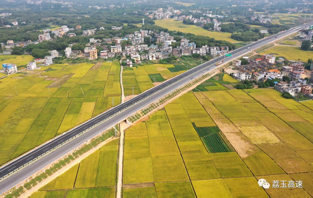 2020年12月9日焦點圖:荔玉高速公路通車在即