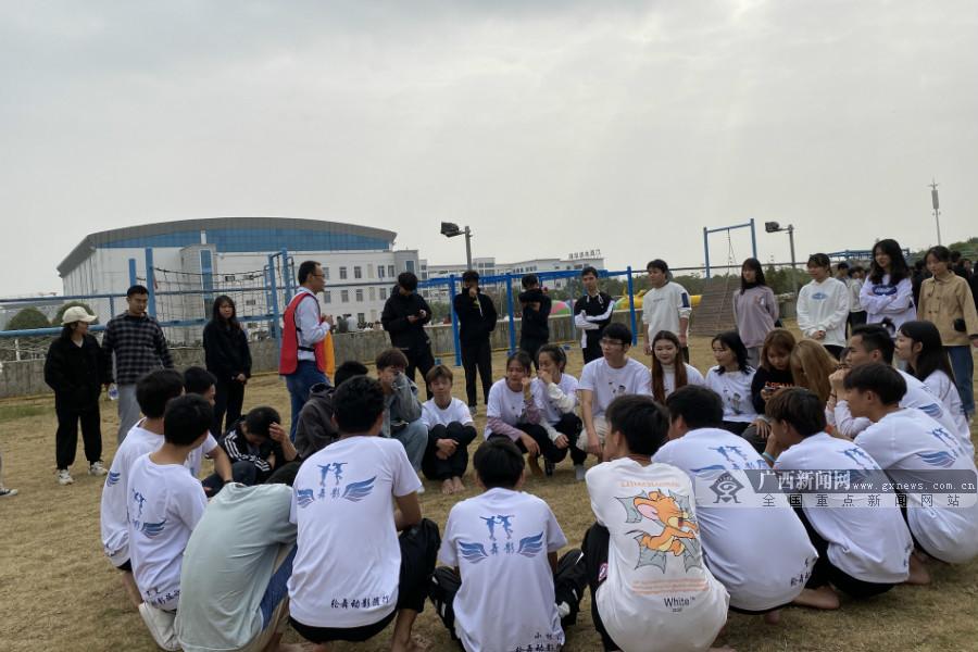 广西水利电力职业技术学院举办趣味运动会(图)
