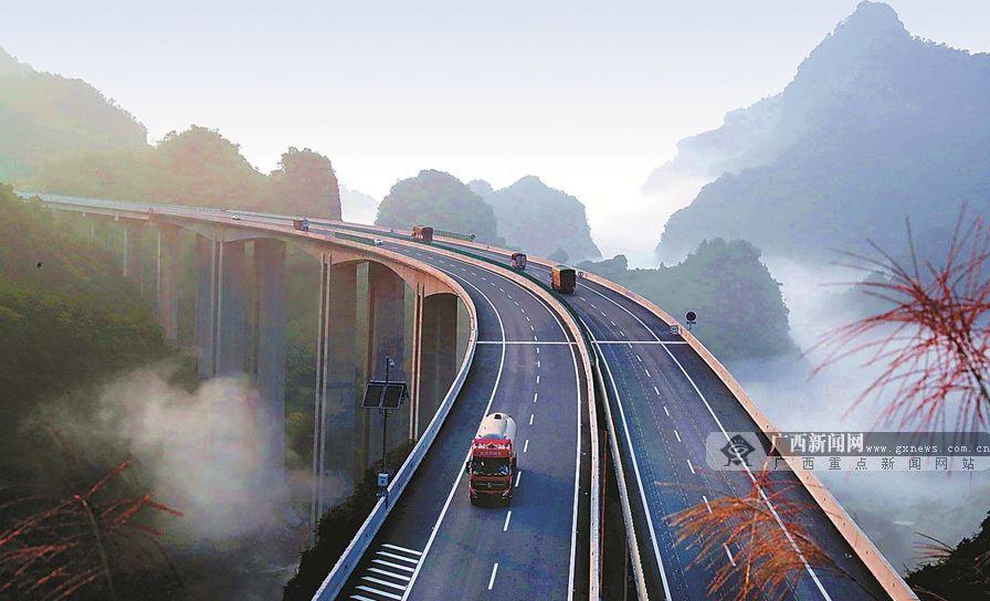 2021年广西交通这样干!机场、高铁都安排上了