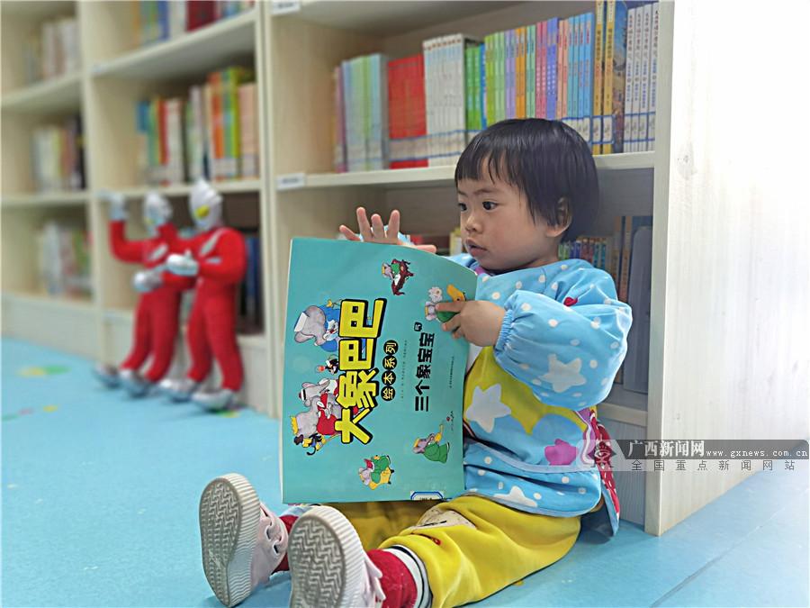 书香伴假期!贺州平桂图书馆成为儿童假期打卡地