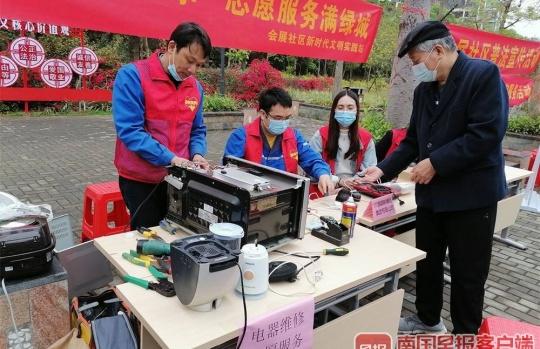 3月5日学雷锋,南宁多部门开展主题志愿服务活动