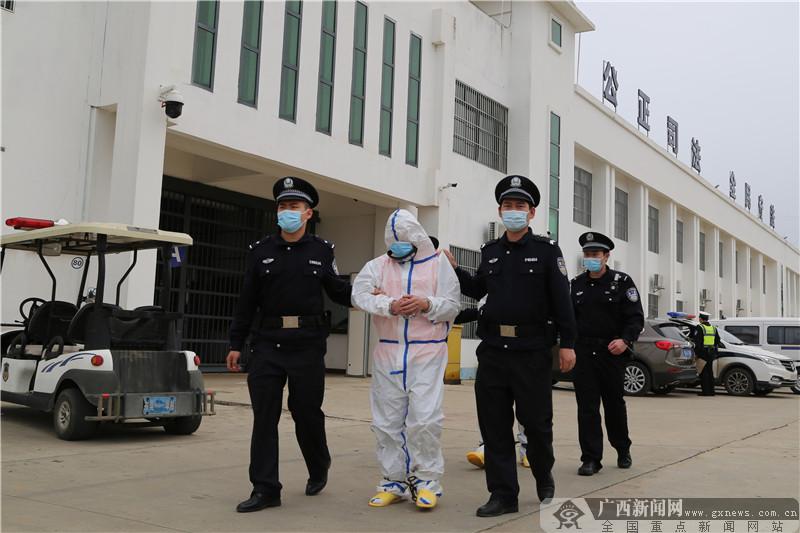 横县开展2021年第一季度重大刑事案件指认现场