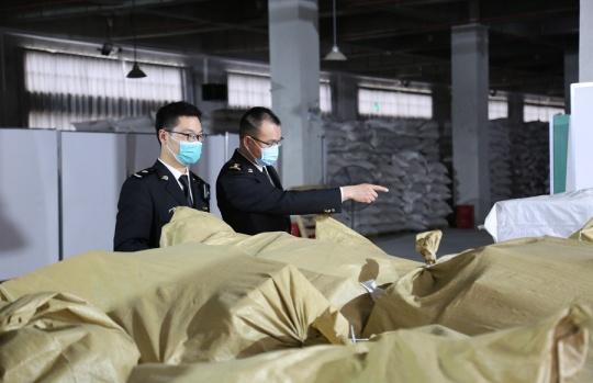 南宁邮局海关无害化销毁侵犯知识产权物品570余件