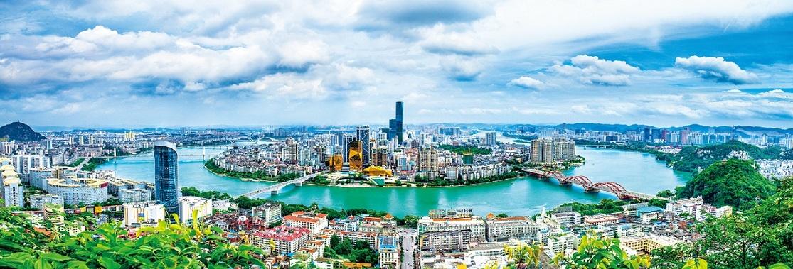 30秒看广西丨柳州:工业与山水和谐共生