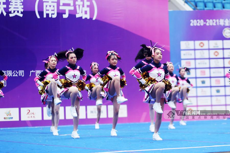 2020-2021全国啦啦操联赛南宁站比赛收官(图)