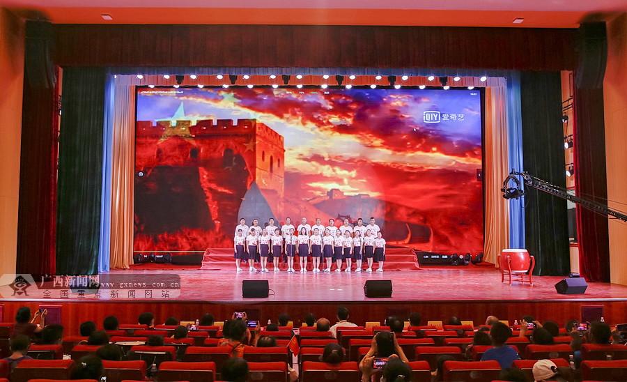 贵港市港北区:教师比赛唱红歌 抒发爱党爱国情