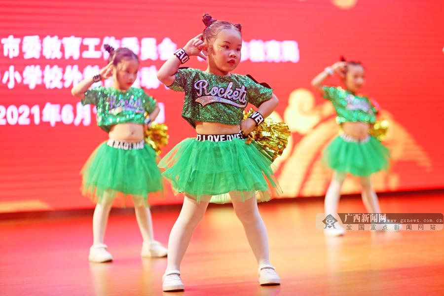 2000余萌娃角逐南宁市幼儿健身操舞、啦啦操比赛