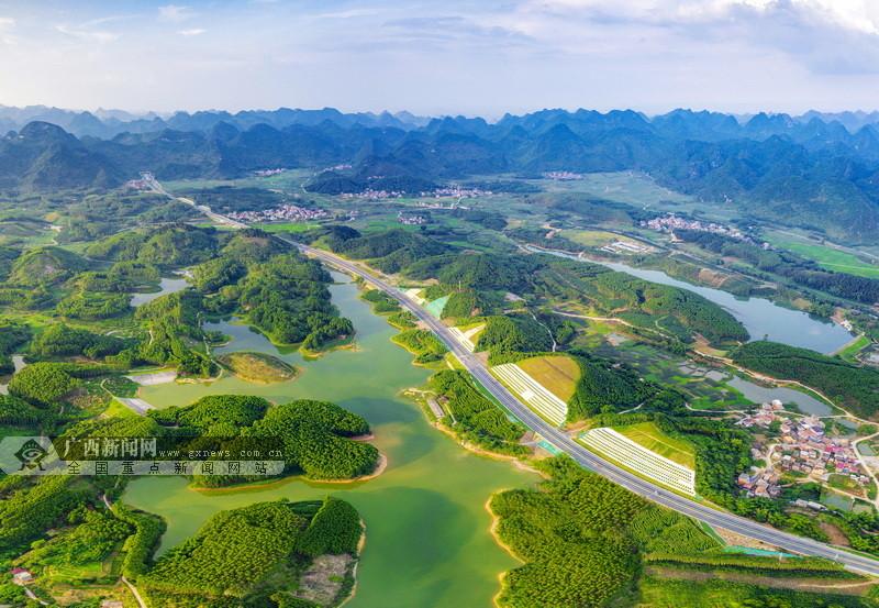 新柳南高速建成通車 廣西縣縣通高速比例達97.3%