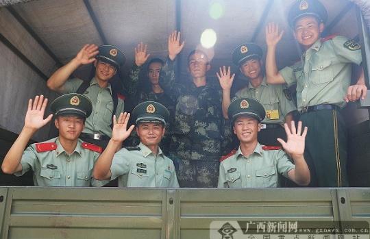 南宁:新兵下连,开启军旅生涯新篇章
