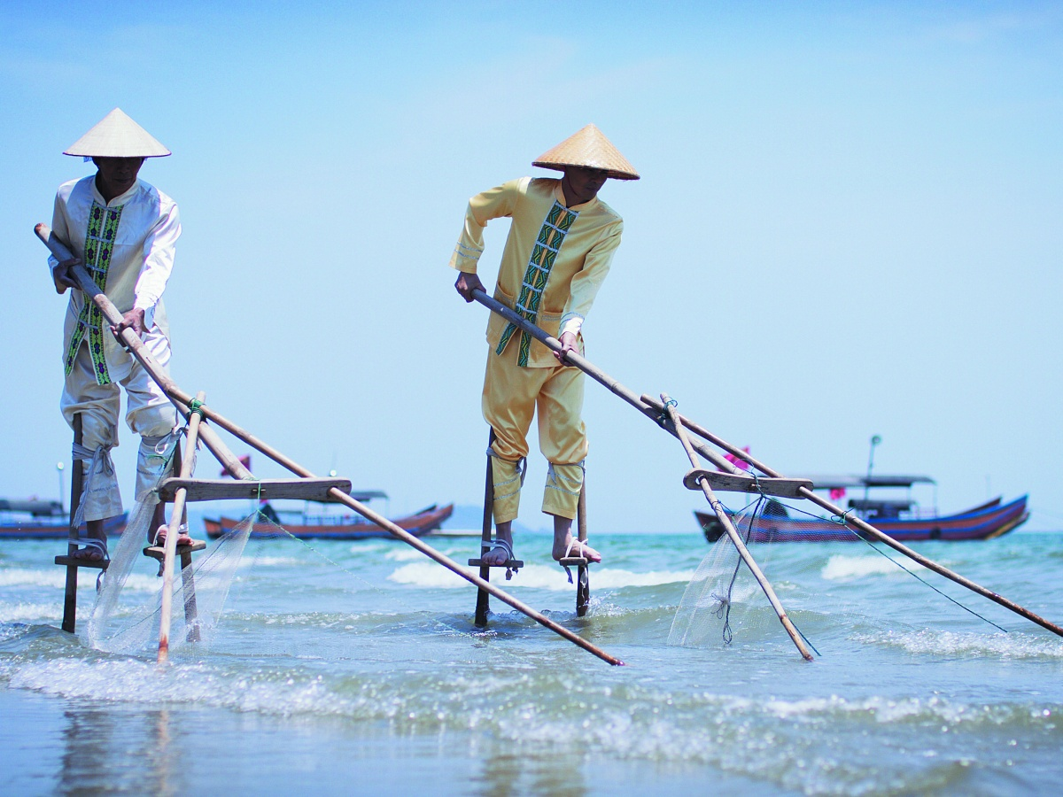 高清图集:靠海吃海 依海而兴