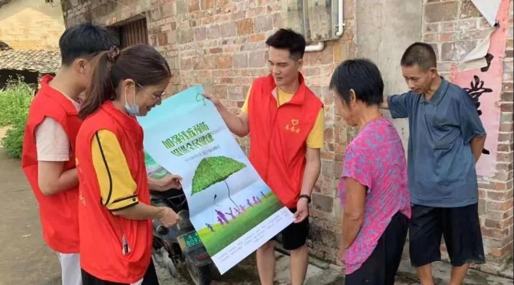 玉林福绵区残联开展第五次残疾预防日宣传教育活动